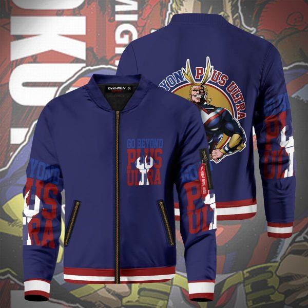 go beyond all might bomber jacket 193241 - Anime Jacket