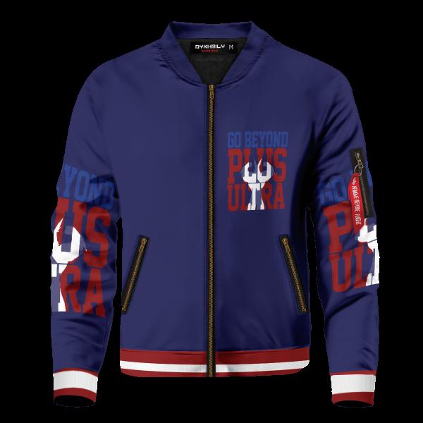 go beyond all might bomber jacket 380633 - Anime Jacket