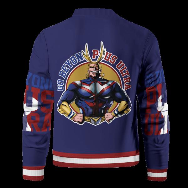 go beyond all might bomber jacket 788743 - Anime Jacket
