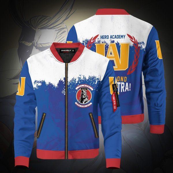 go beyond plus ultra bomber jacket 703837 - Anime Jacket