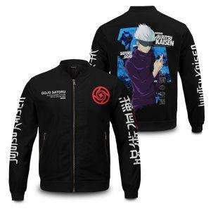 gojo bomber jacket 258316 - Anime Jacket