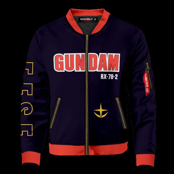 gundam bomber jacket 481321 - Anime Jacket
