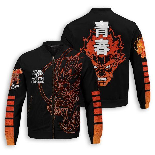guy power of youth bomber jacket 159017 - Anime Jacket