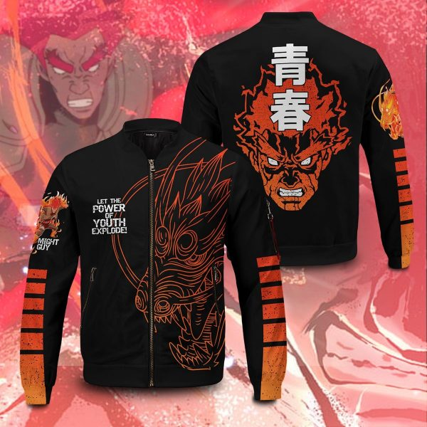 guy power of youth bomber jacket 183866 - Anime Jacket
