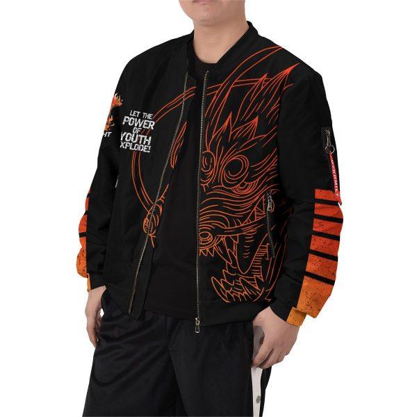 guy power of youth bomber jacket 259340 - Anime Jacket
