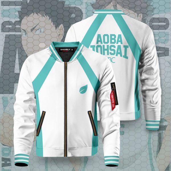 haikyuu aoba johsai bomber jacket 381681 - Anime Jacket