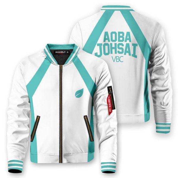 haikyuu aoba johsai bomber jacket 518315 - Anime Jacket