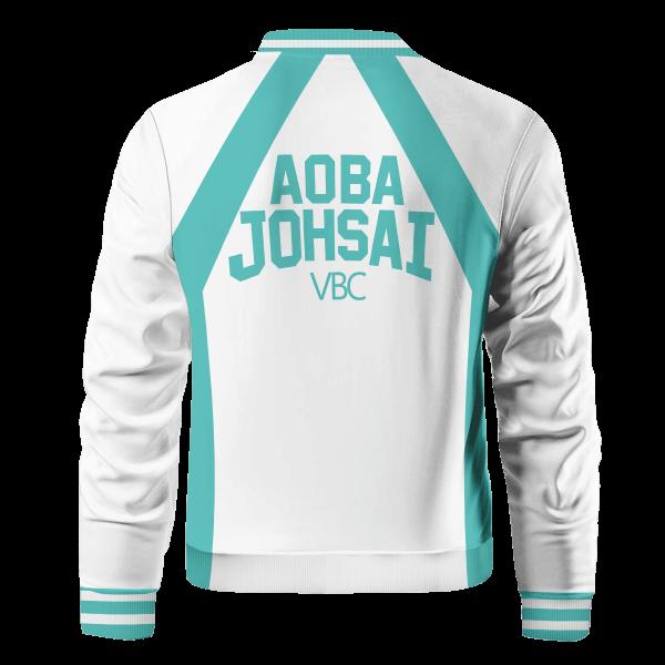 haikyuu aoba johsai bomber jacket 683968 - Anime Jacket
