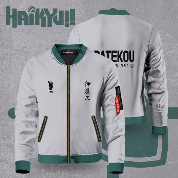 haikyuu datekou bomber jacket 258817 - Anime Jacket
