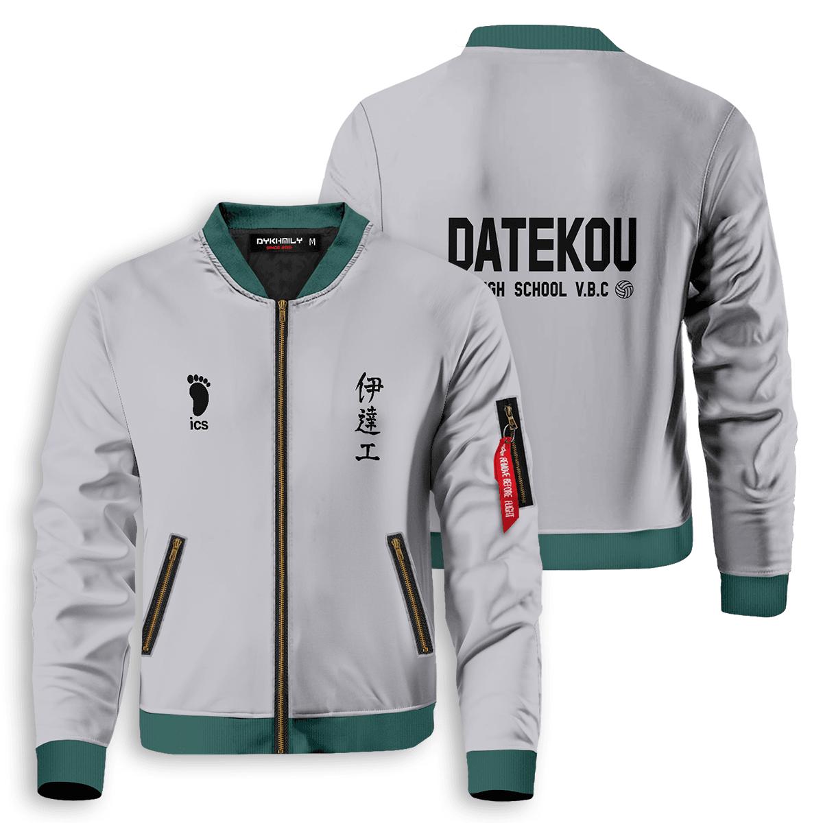 haikyuu datekou bomber jacket 396982 - Anime Jacket