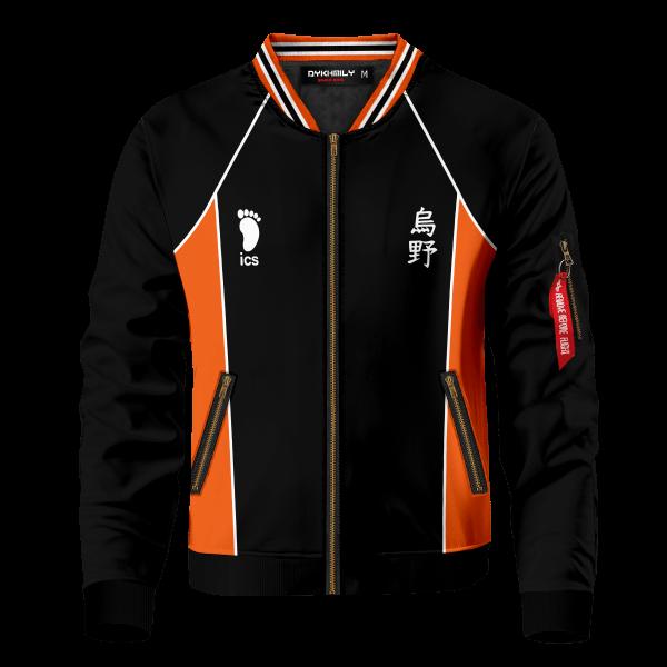 haikyuu karasuno bomber jacket 380445 - Anime Jacket