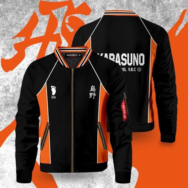 haikyuu karasuno bomber jacket 768255 - Anime Jacket