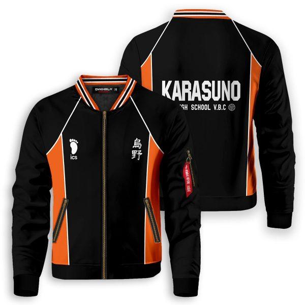 haikyuu karasuno bomber jacket 829096 - Anime Jacket