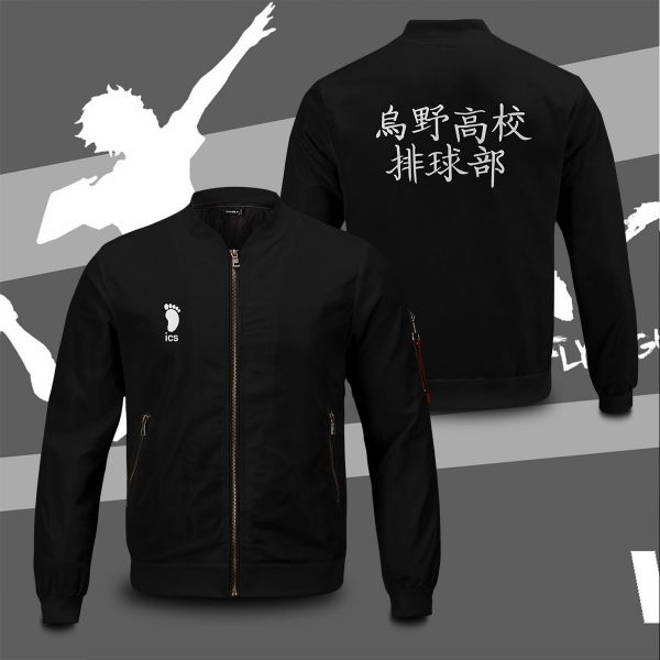 haikyuu karasuno high bomber jacket 167347 - Anime Jacket