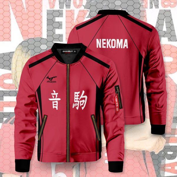 haikyuu nekoma bomber jacket 119206 - Anime Jacket