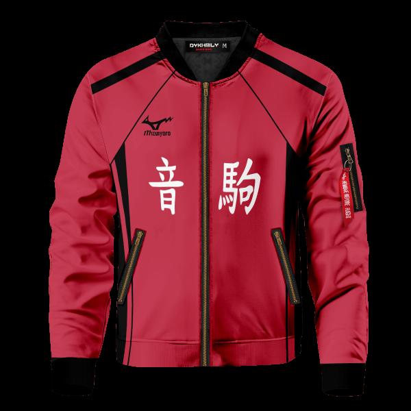 haikyuu nekoma bomber jacket 135274 - Anime Jacket