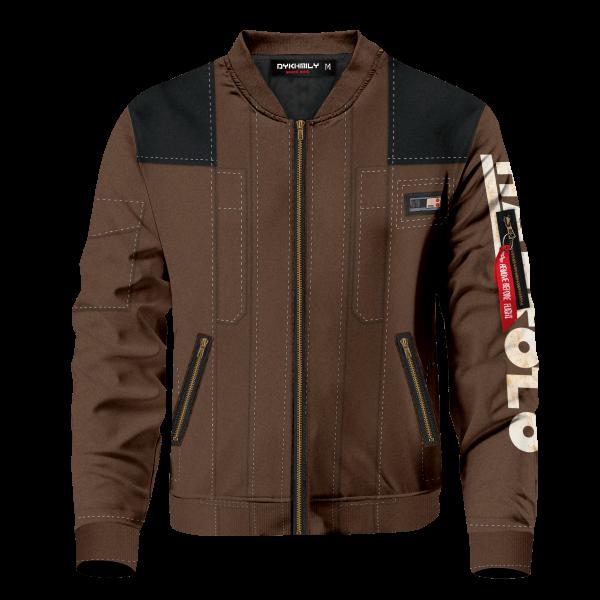 han solo v2 bomber jacket 463360 - Anime Jacket