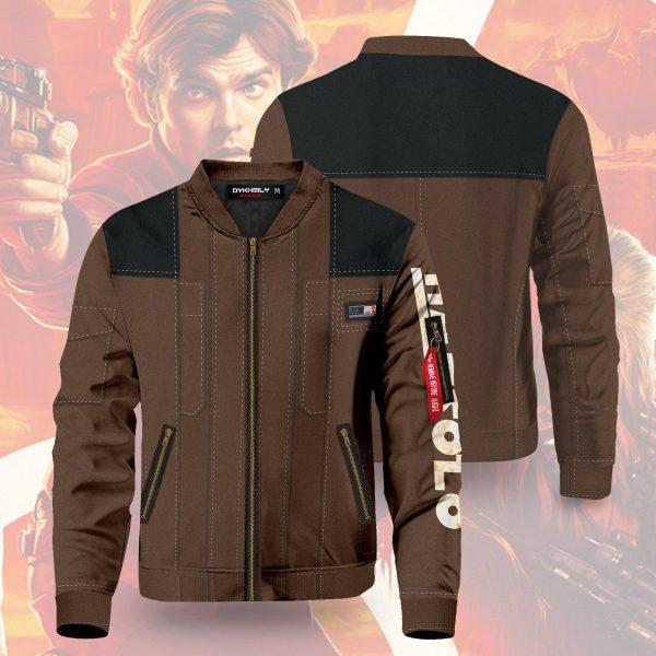 han solo v2 bomber jacket 870023 - Anime Jacket