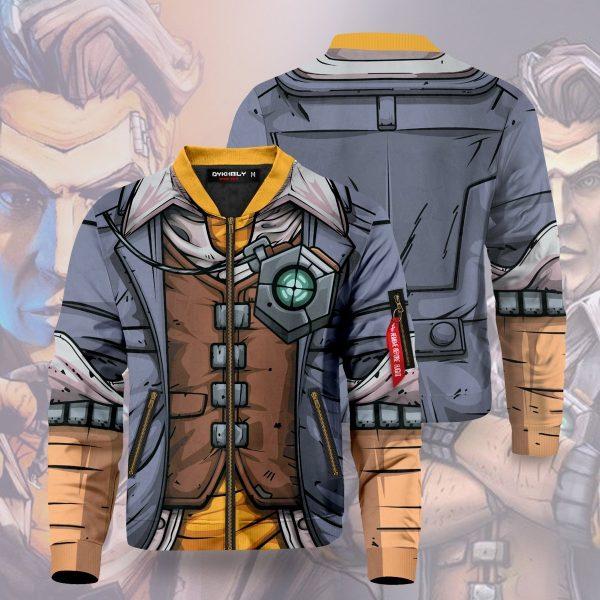 handsome jack bomber jacket 132249 - Anime Jacket