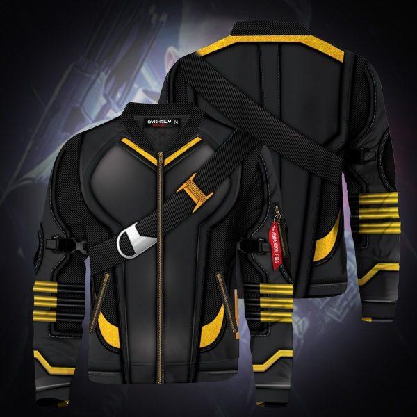 hawkeye endgame bomber jacket 970158 - Anime Jacket