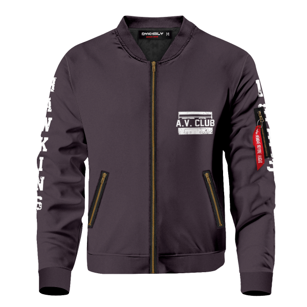 hawkins high school bomber jacket 503684 - Anime Jacket