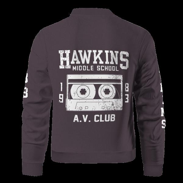 hawkins high school bomber jacket 583812 - Anime Jacket