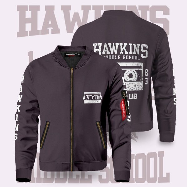 hawkins high school bomber jacket 936904 - Anime Jacket