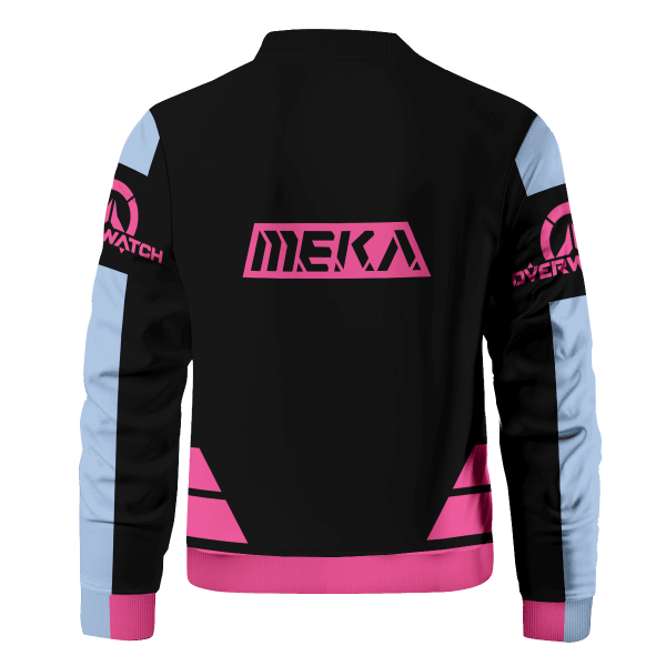 hero dva bomber jacket 219661 - Anime Jacket