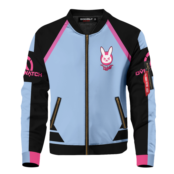 hero dva bomber jacket 624150 - Anime Jacket