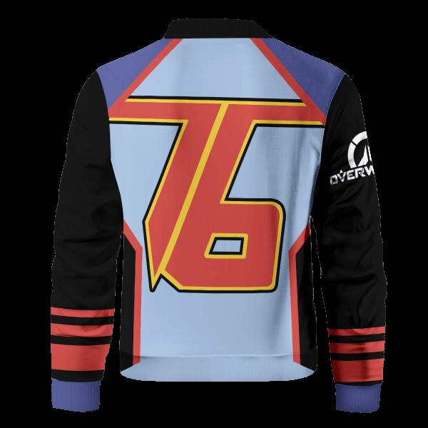 hero soldier 76 bomber jacket 299971 - Anime Jacket