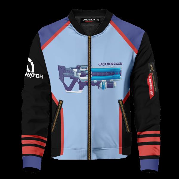 hero soldier 76 bomber jacket 442002 - Anime Jacket