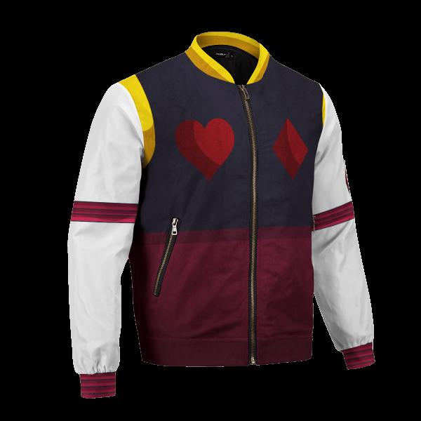 hxh hisoka bomber jacket 144627 - Anime Jacket