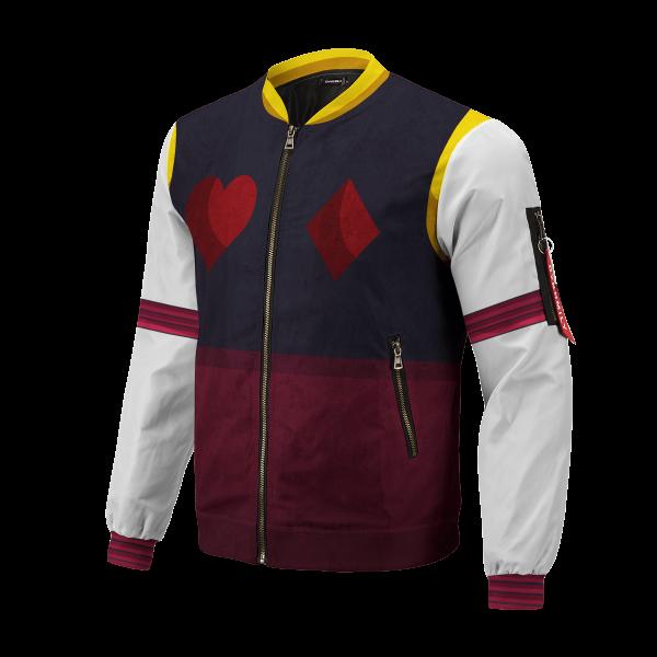 hxh hisoka bomber jacket 169927 - Anime Jacket
