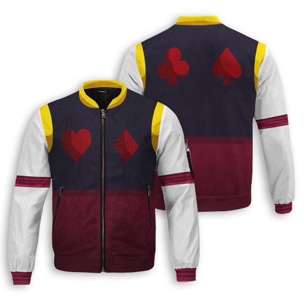 hxh hisoka bomber jacket 188499 - Anime Jacket