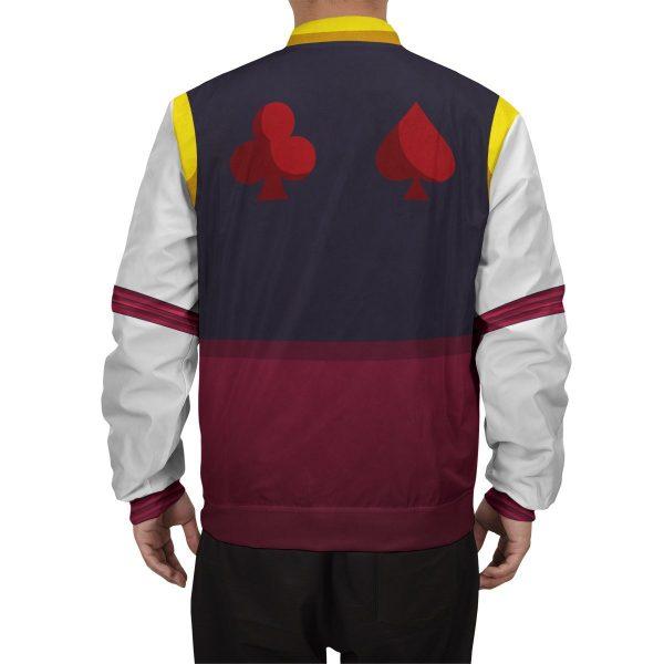 hxh hisoka bomber jacket 231092 - Anime Jacket