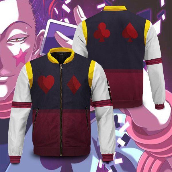 hxh hisoka bomber jacket 232188 - Anime Jacket