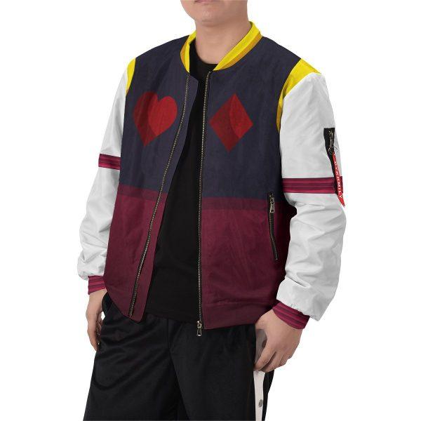 hxh hisoka bomber jacket 241363 - Anime Jacket