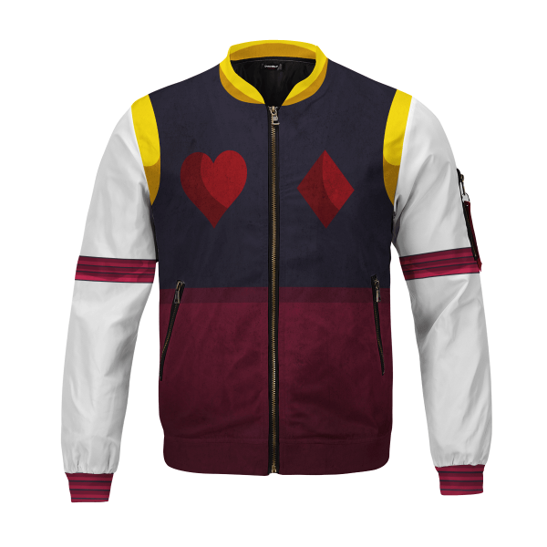 hxh hisoka bomber jacket 317467 - Anime Jacket