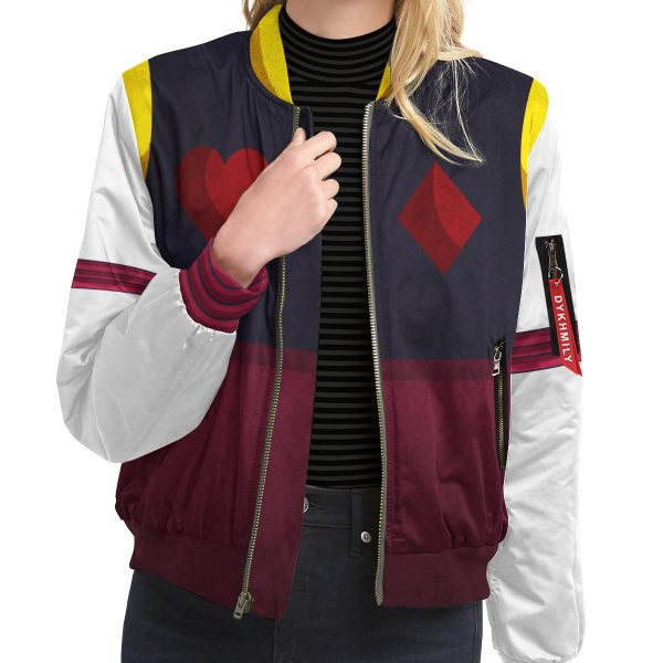hxh hisoka bomber jacket 511227 - Anime Jacket