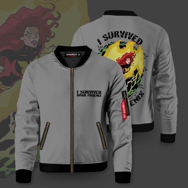 i survived dark phoenix bomber jacket 284821 - Anime Jacket