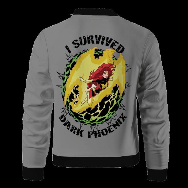i survived dark phoenix bomber jacket 312348 - Anime Jacket