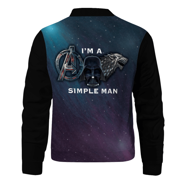 im a simple person bomber jacket 954923 - Anime Jacket