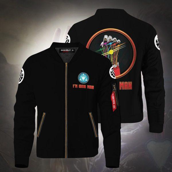 im iron man bomber jacket 670618 - Anime Jacket