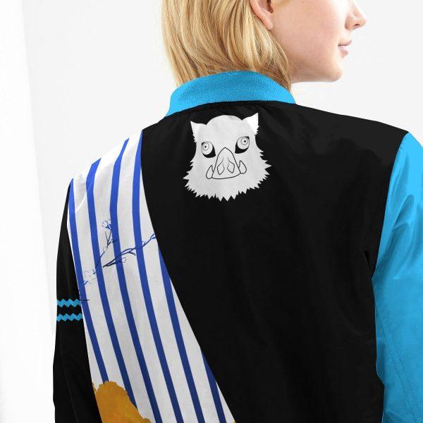 inosuke bomber jacket 158792 - Anime Jacket