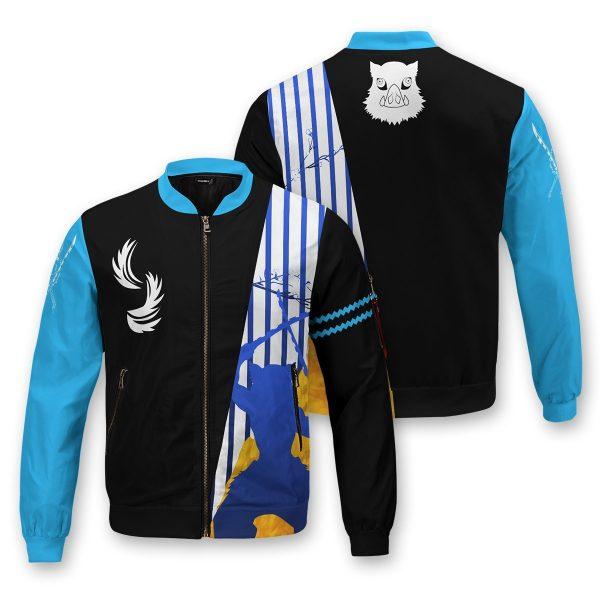 inosuke bomber jacket 304802 - Anime Jacket