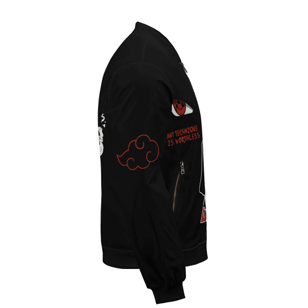 invincible itachi bomber jacket 129233 - Anime Jacket