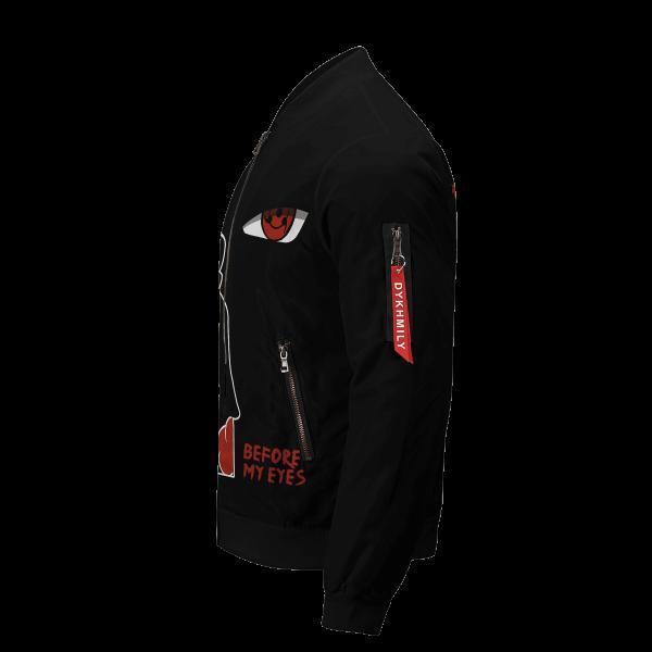 invincible itachi bomber jacket 573113 - Anime Jacket