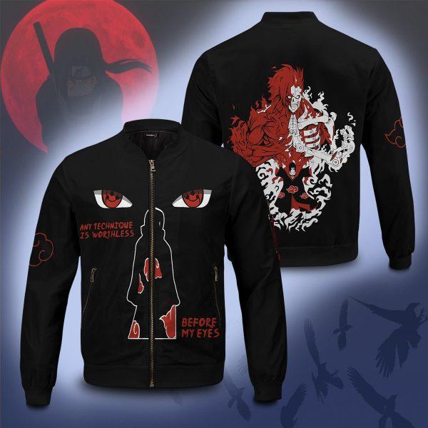 invincible itachi bomber jacket 826331 - Anime Jacket