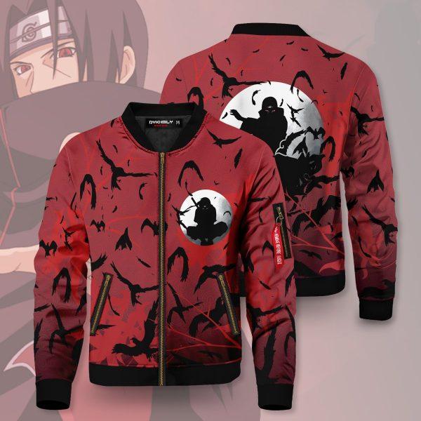 itachi crow bomber jacket 332794 - Anime Jacket
