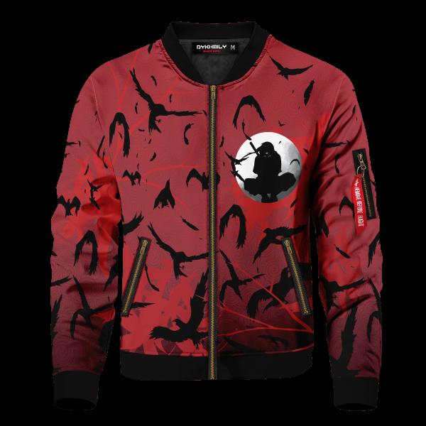 itachi crow bomber jacket 352680 - Anime Jacket